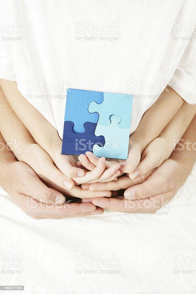 Family Solutions royalty-free stock photo