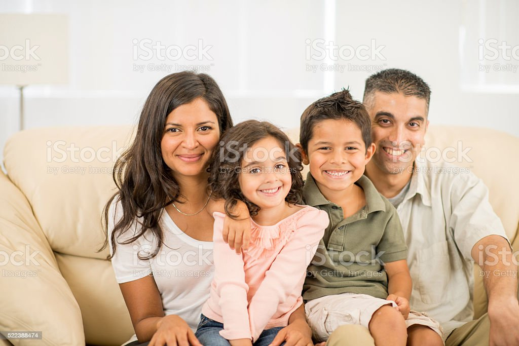 Family Spending Time Together stock photo