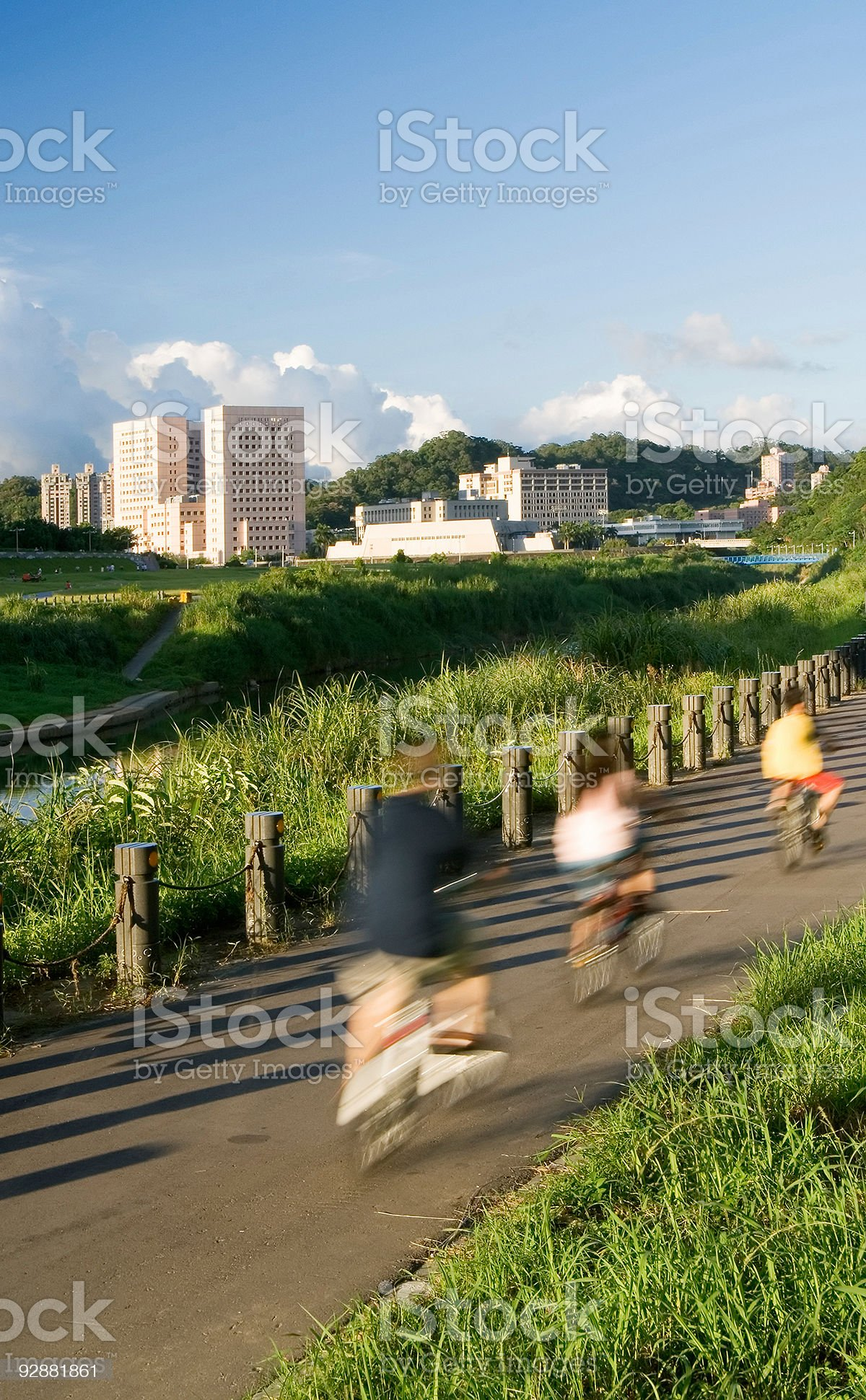 family sport royalty-free stock photo