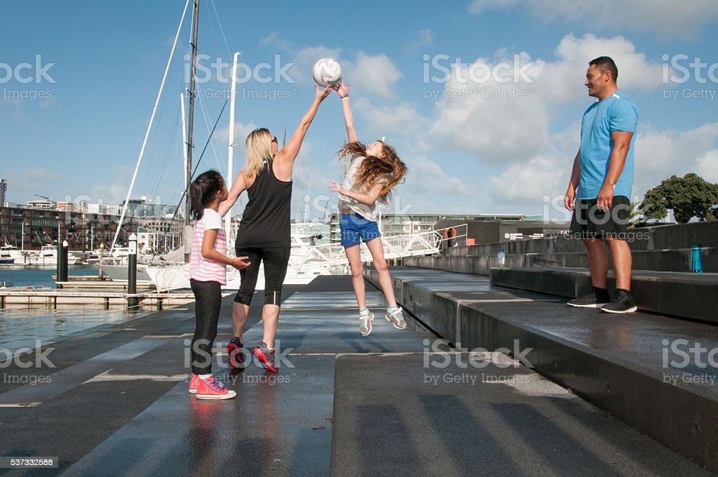 Family Sports stock photo