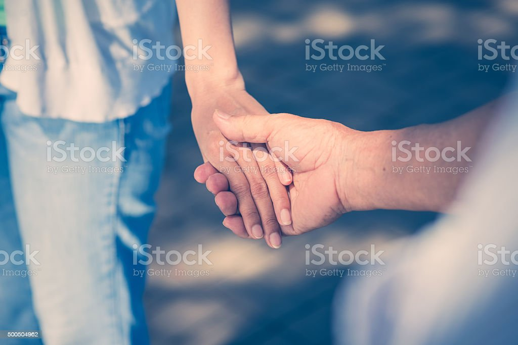 Family support stock photo
