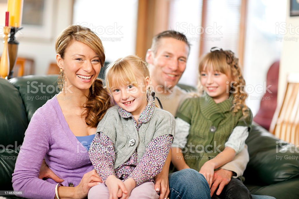 Family Time royalty-free stock photo