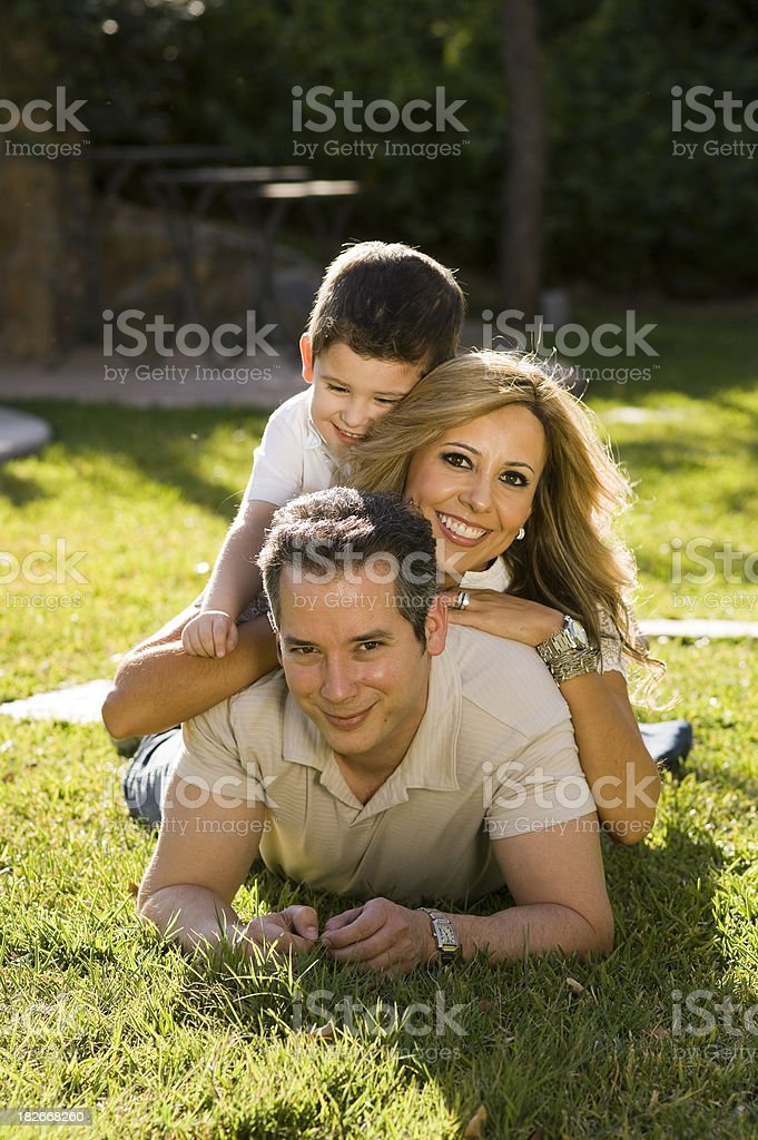 Family Tower royalty-free stock photo