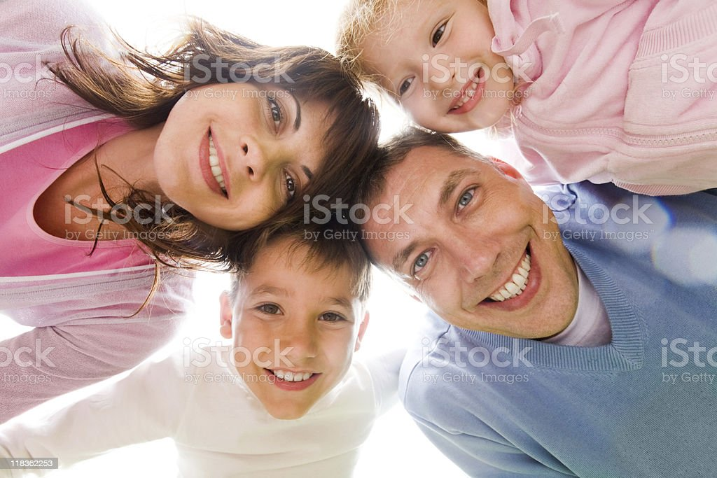 Family union royalty-free stock photo