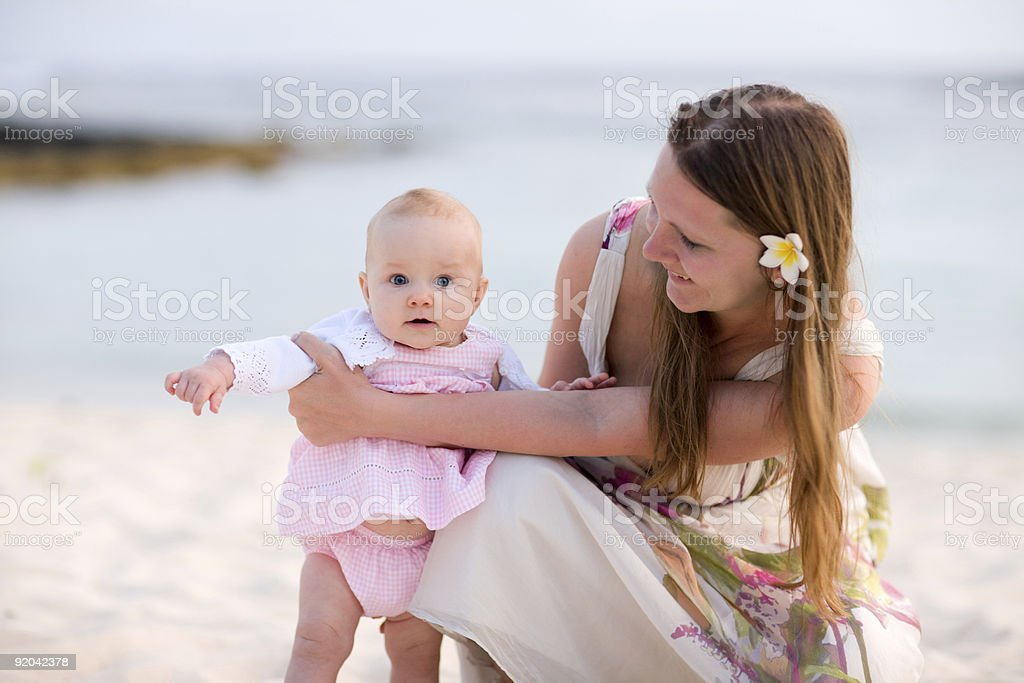 Family vacation royalty-free stock photo