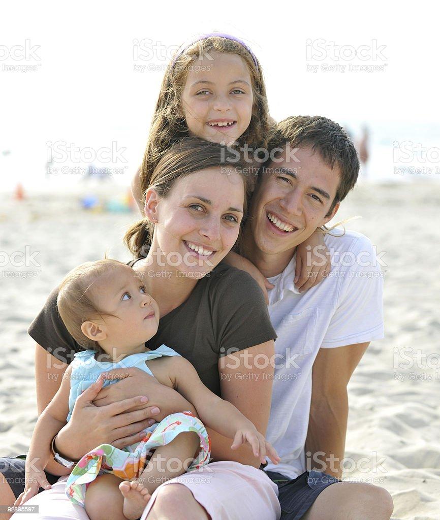 Family Vacation royalty-free stock photo
