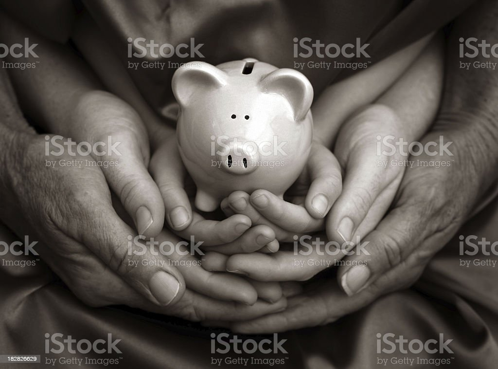 Family Wealth stock photo