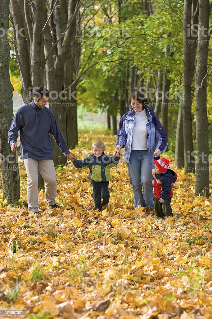 Family weekend royalty-free stock photo