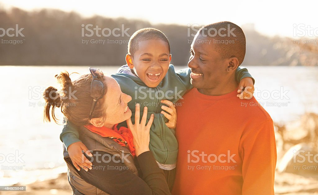 Family, where the fun never ends stock photo