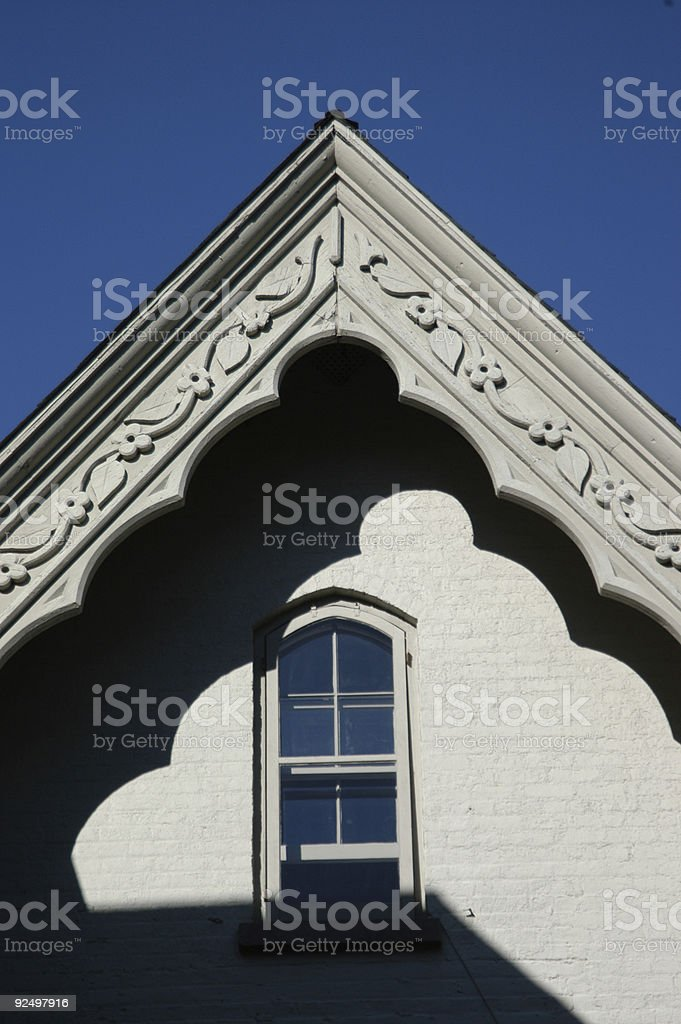 Famous Architectural House stock photo