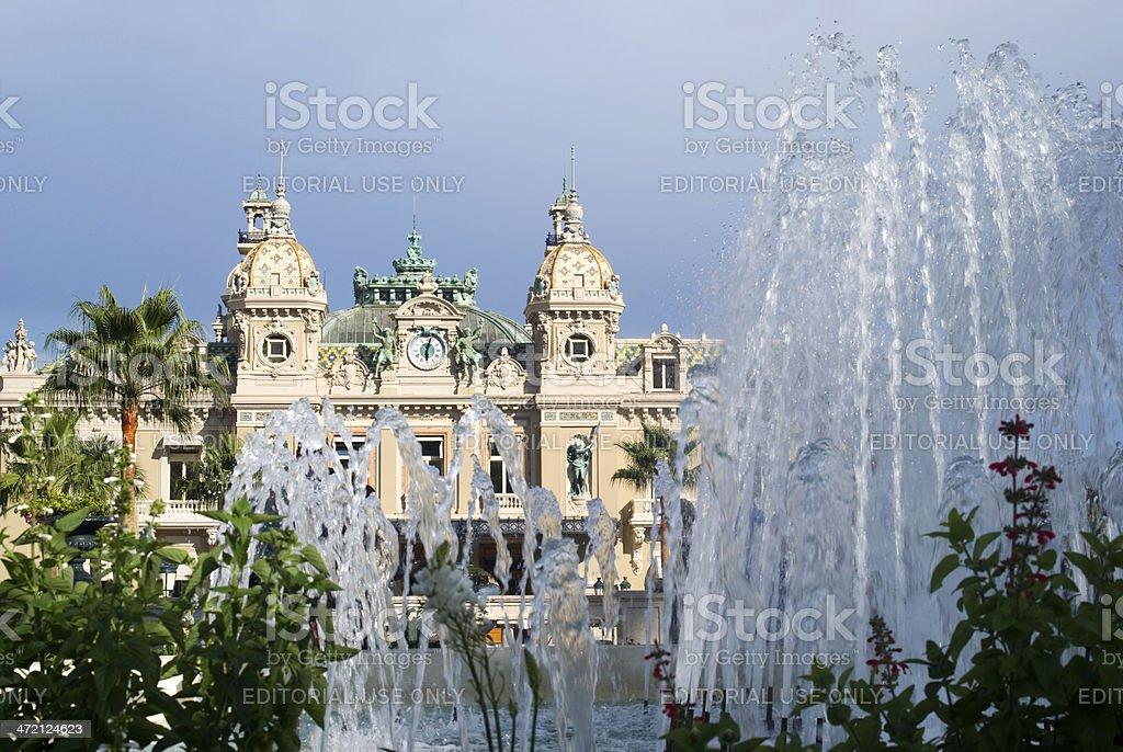 Famous Casino in Monte Carlo stock photo