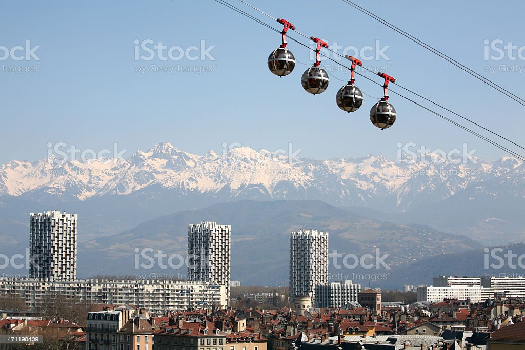 Famous eggs of Grenoble and the Alps stock photo