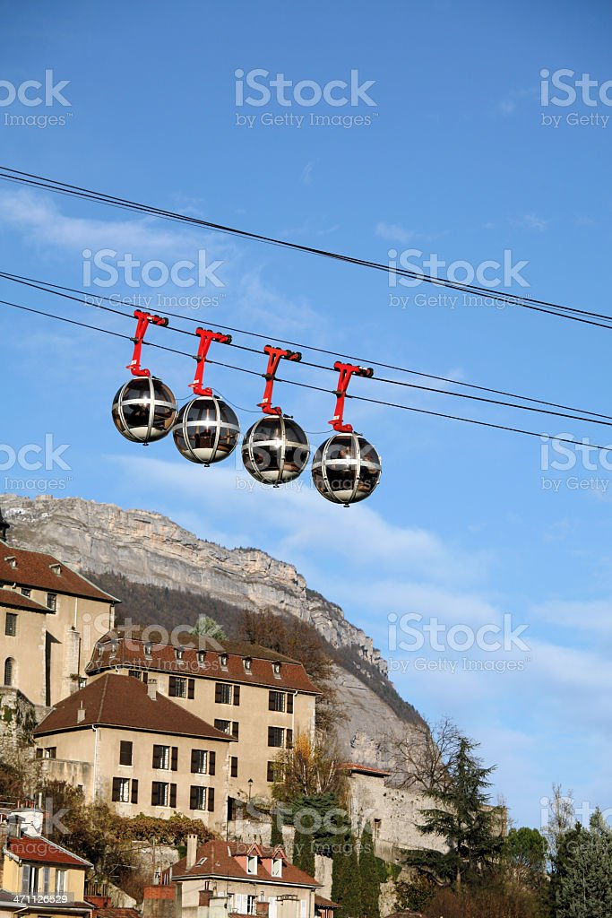 Famous eggs of Grenoble royalty-free stock photo