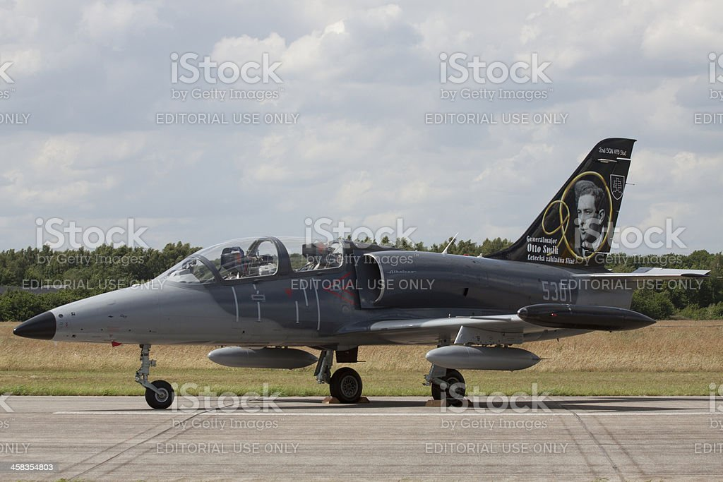 Famous fighter jet royalty-free stock photo