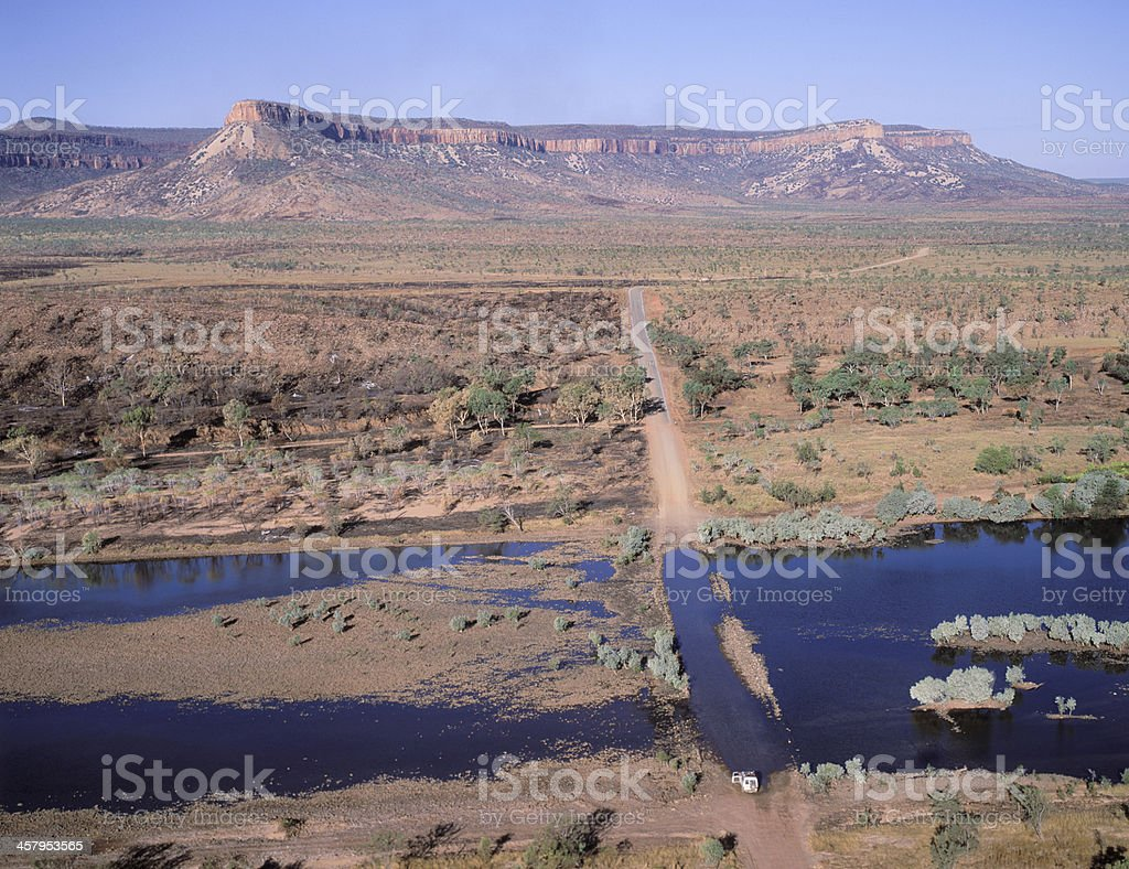 famous Gibb river road royalty-free stock photo