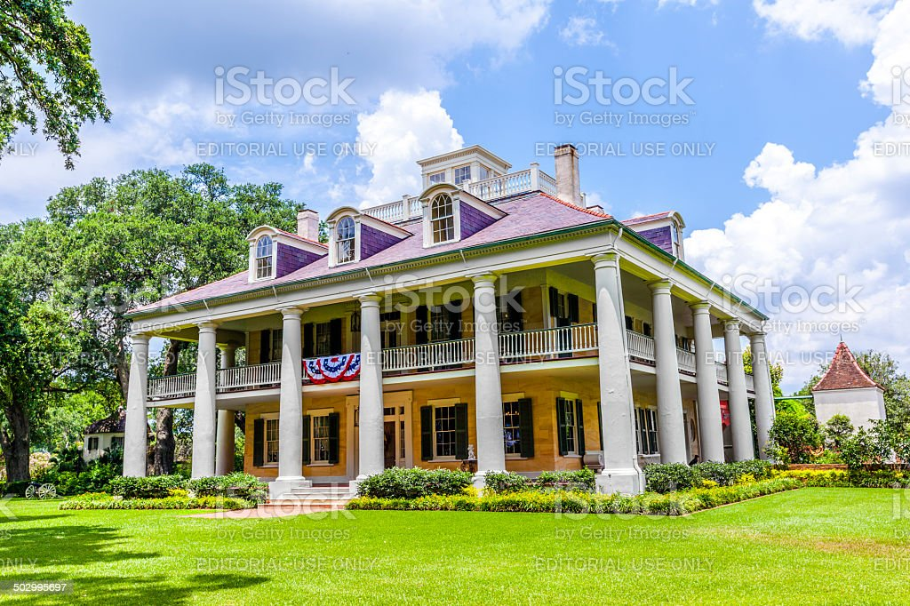 famous Houmas House plantation stock photo