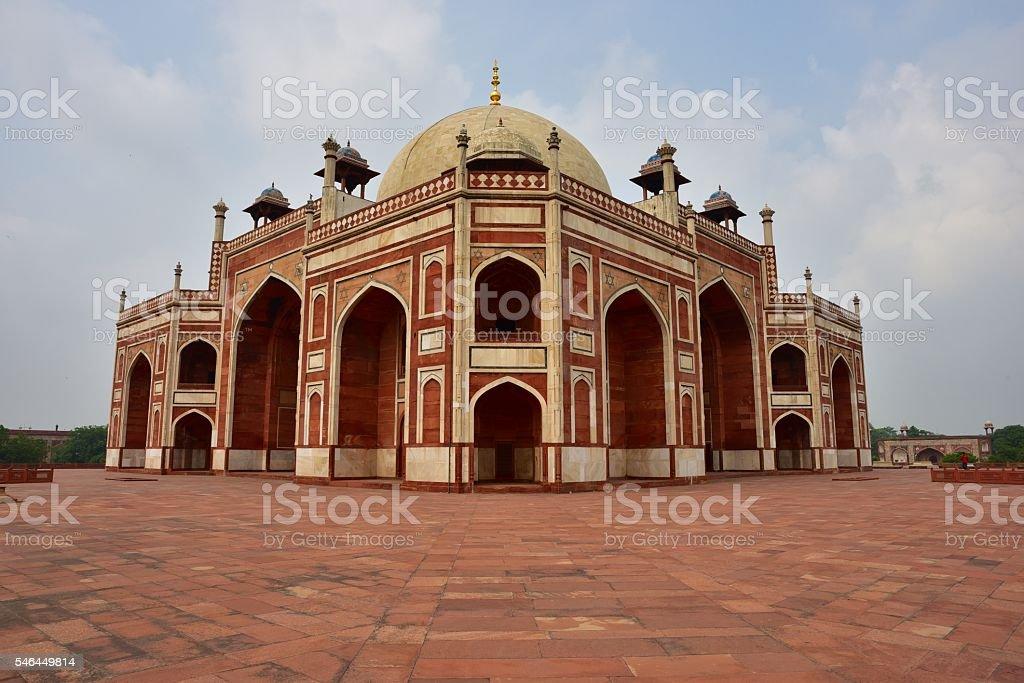 Famous Humayun's Tomb in Delh stock photo