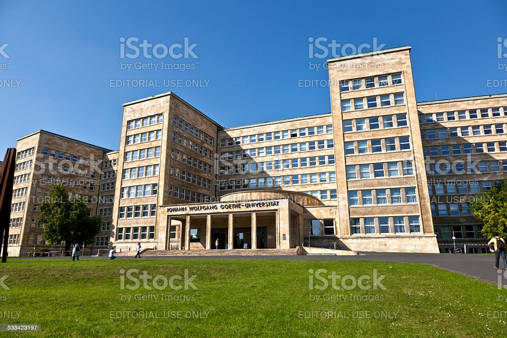 famous IG farben house, former  headquarter of the US Army stock photo