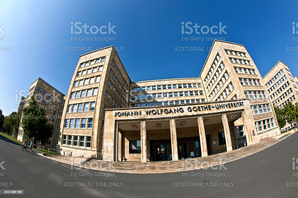 famous IG farben house stock photo