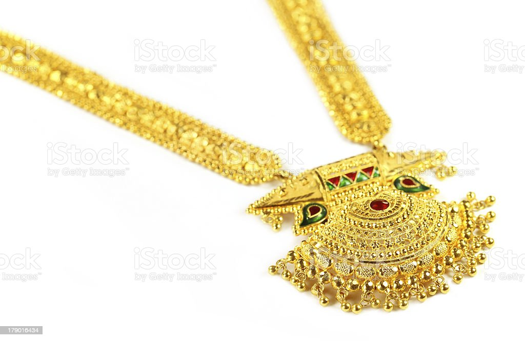 Famous Indian bridal Sita Har stock photo