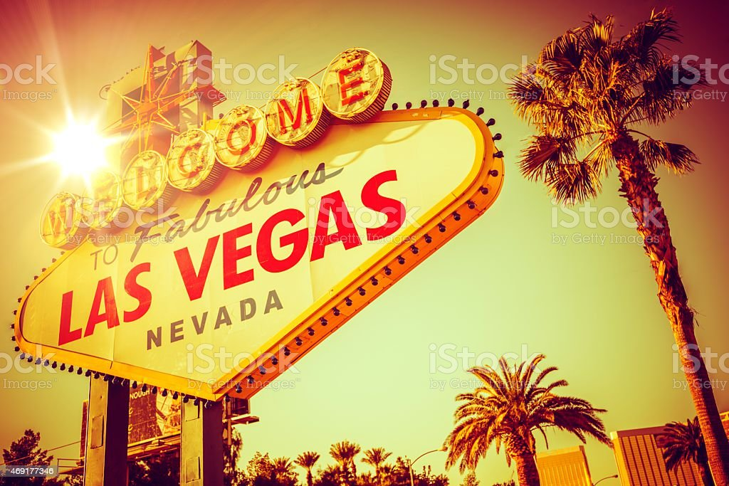 Famous Las Vegas Nevada stock photo
