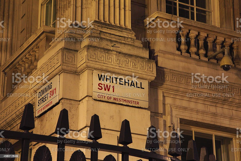 Famous London Streets royalty-free stock photo