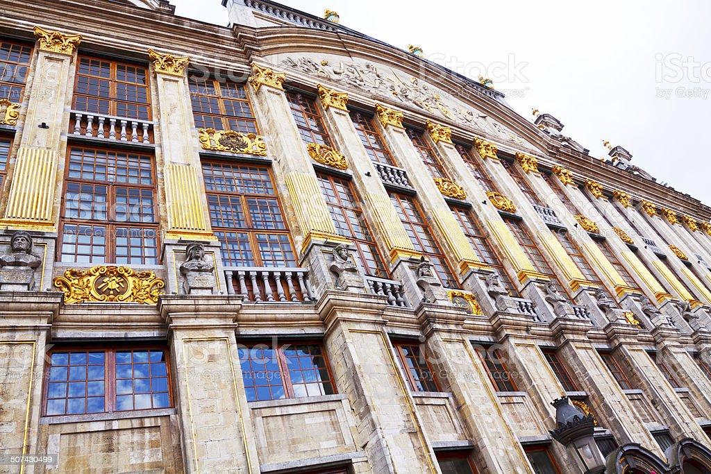 Famous Maison Ducs des Brabants stock photo