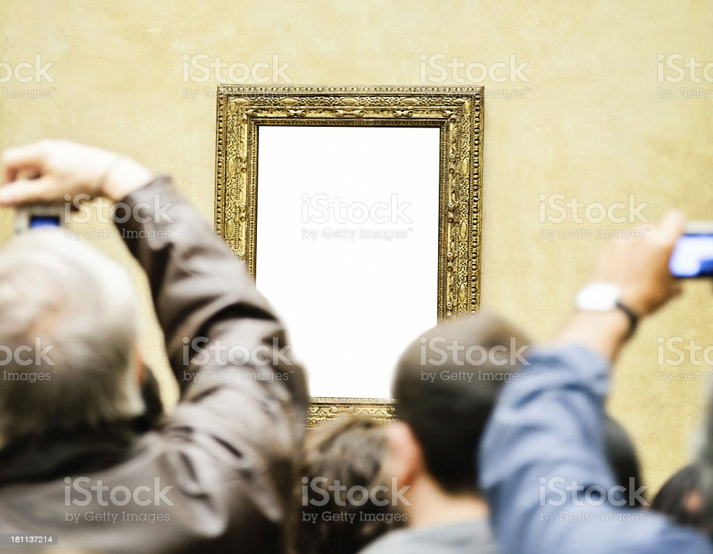 Famous Picture stock photo