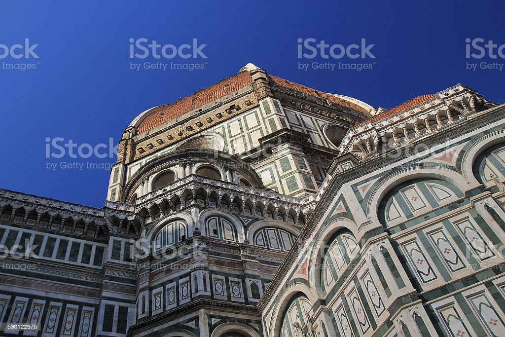 Famous place. Italy, Florence stock photo