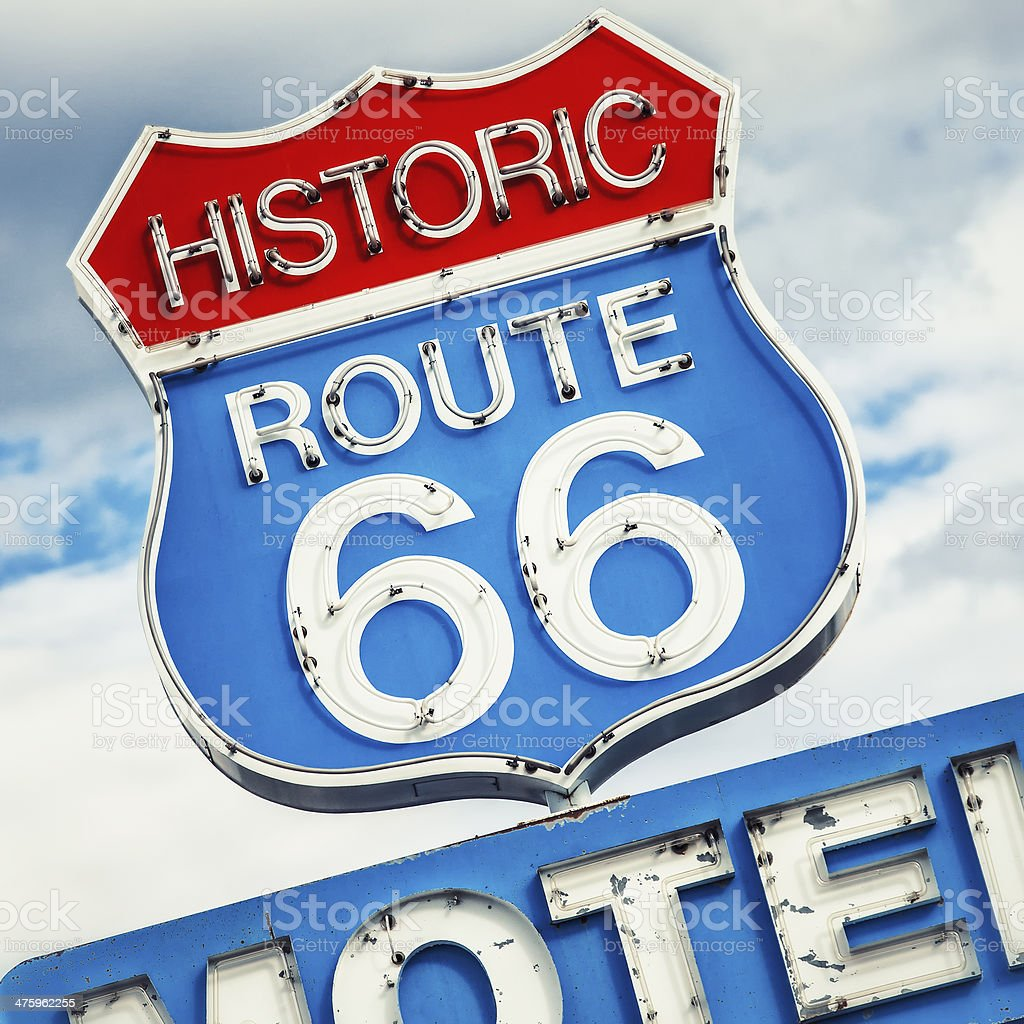 Famous road stock photo