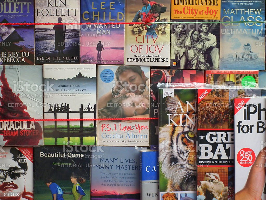 Famous story books for sale stock photo