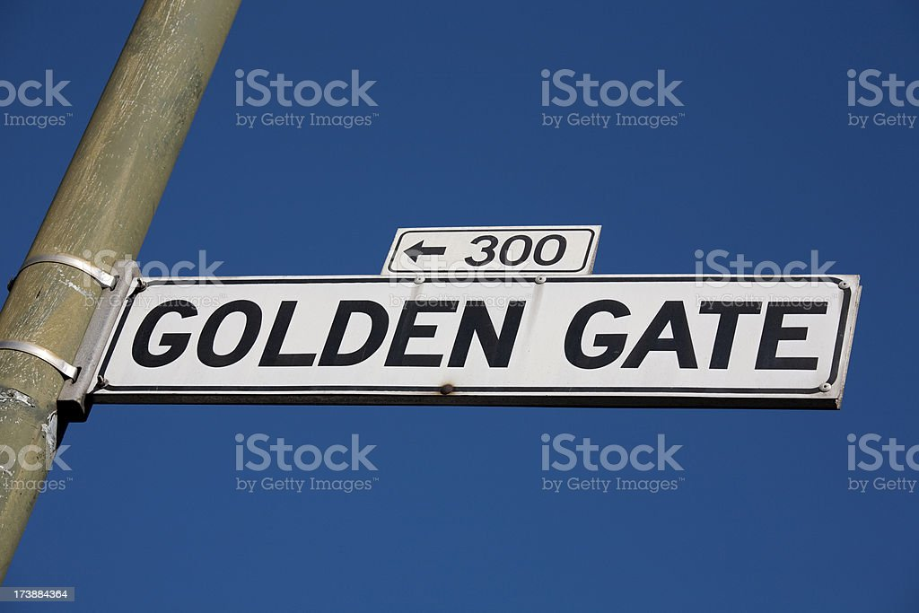 Famous Streets of San Francisco Series royalty-free stock photo