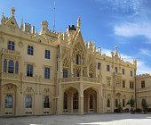 Famous Touristic Destination Lednice Palace