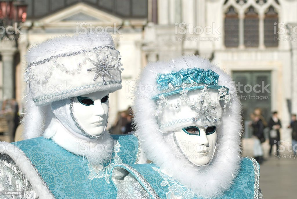 famous venice carnival royalty-free stock photo
