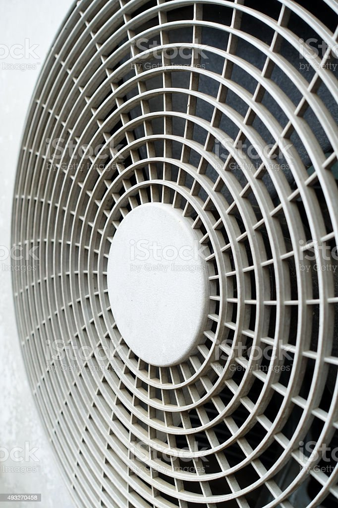 fan aircondition stock photo