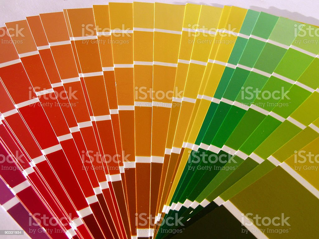 Fan color book royalty-free stock photo