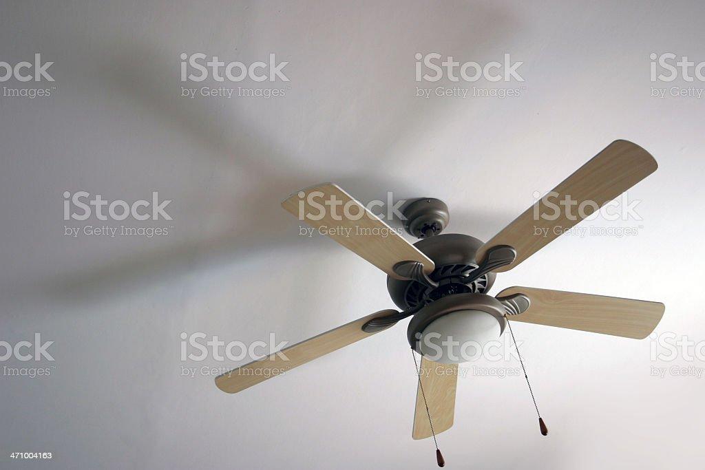Fan lamp royalty-free stock photo