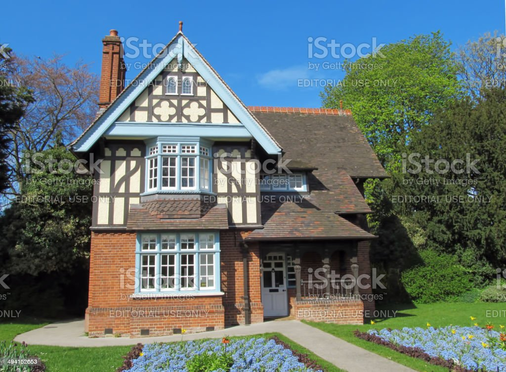 Fanciful Cottage stock photo