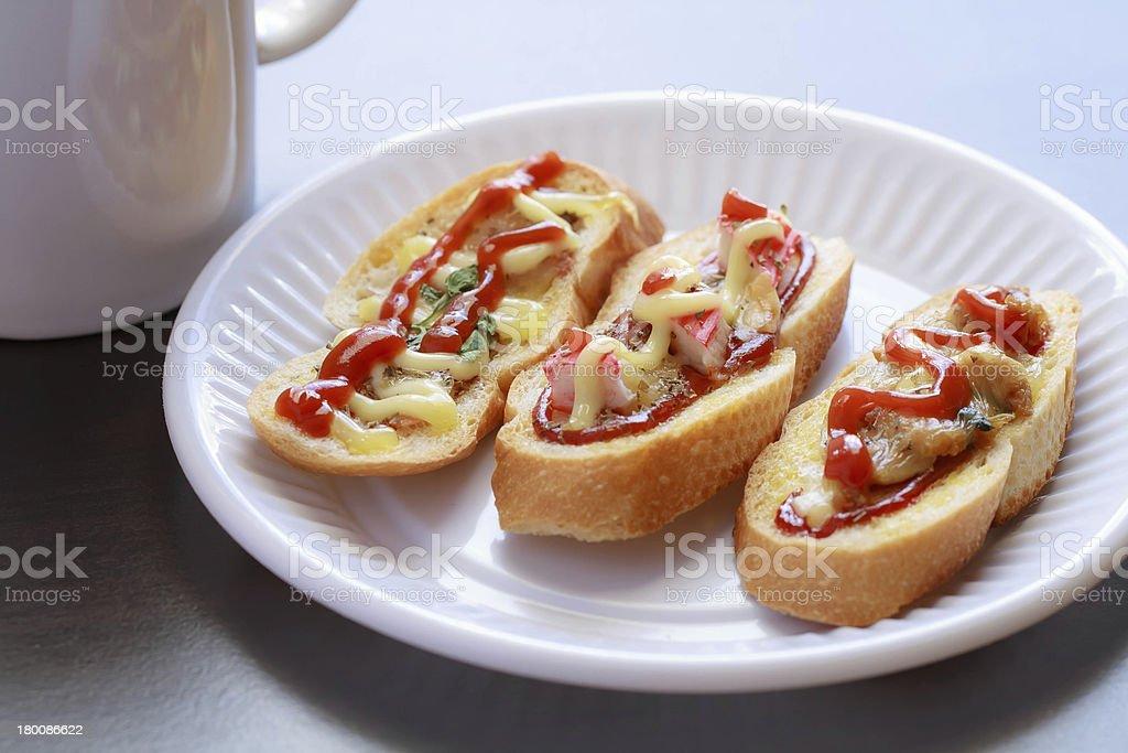 Fancy bread. royalty-free stock photo