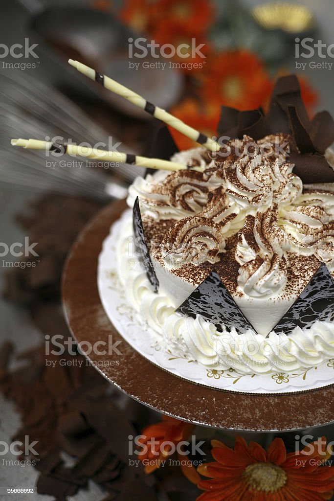 Fancy Cake at the Bakery royalty-free stock photo