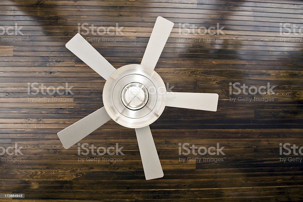 fancy ceiling fan stock photo