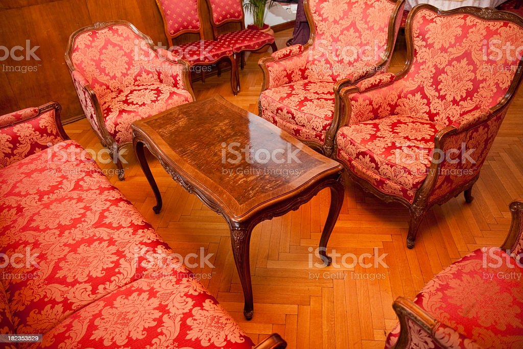 Fancy chairs royalty-free stock photo