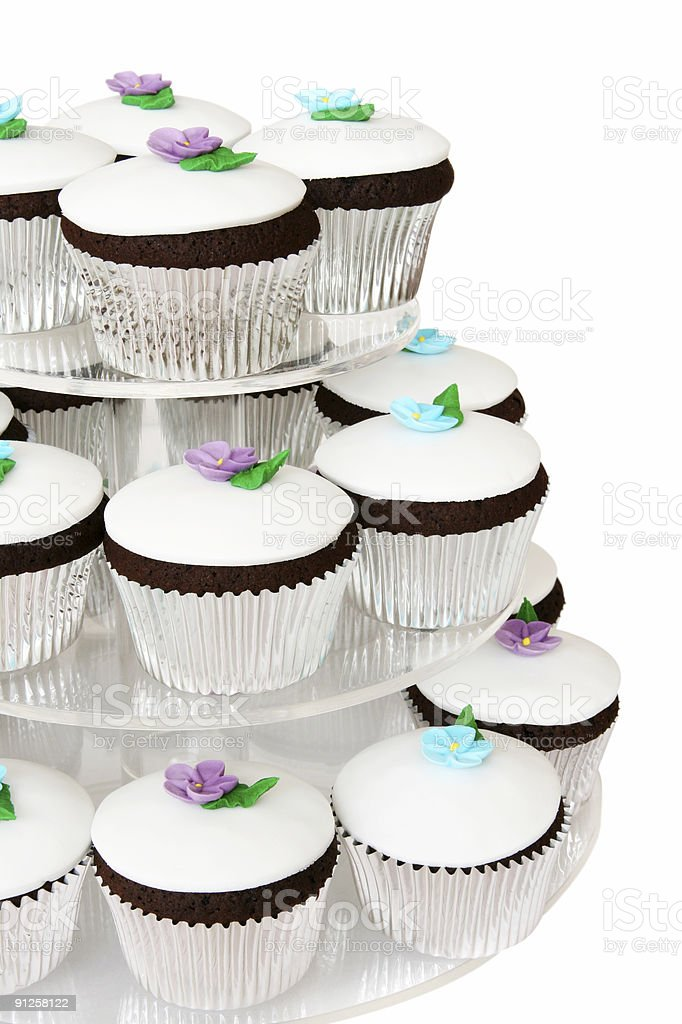 Fancy Cup Cakes royalty-free stock photo