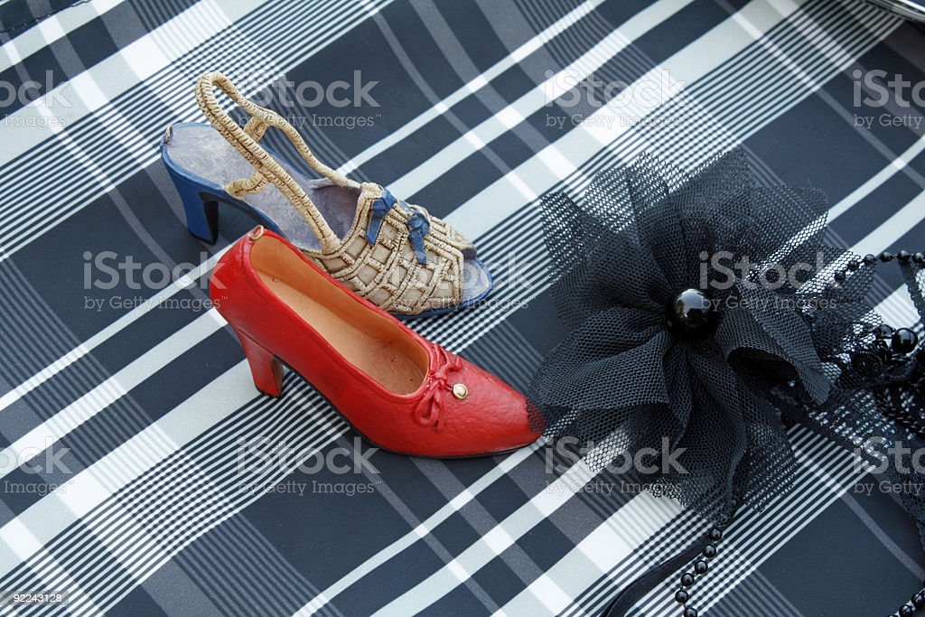 fancy dance stock photo