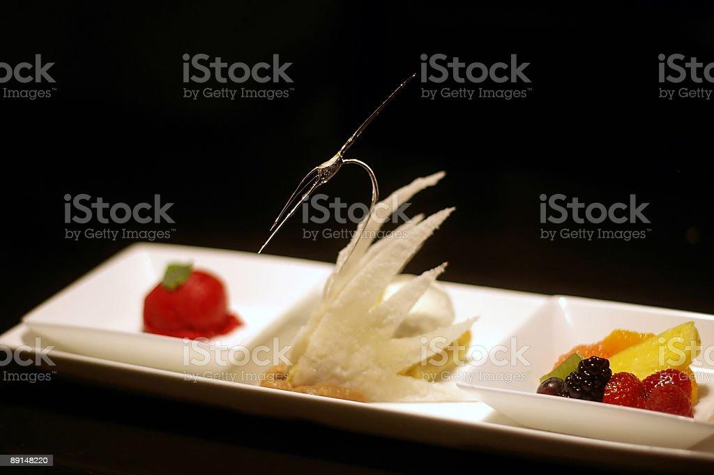 Fancy Dessert royalty-free stock photo