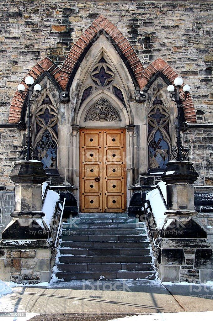 Fancy Doorway Entrance royalty-free stock photo