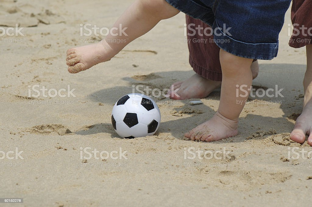 fancy footwork stock photo