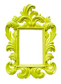 Fancy frame   limegreen
