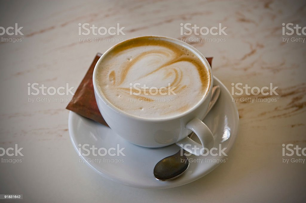 Fancy Froth Art royalty-free stock photo