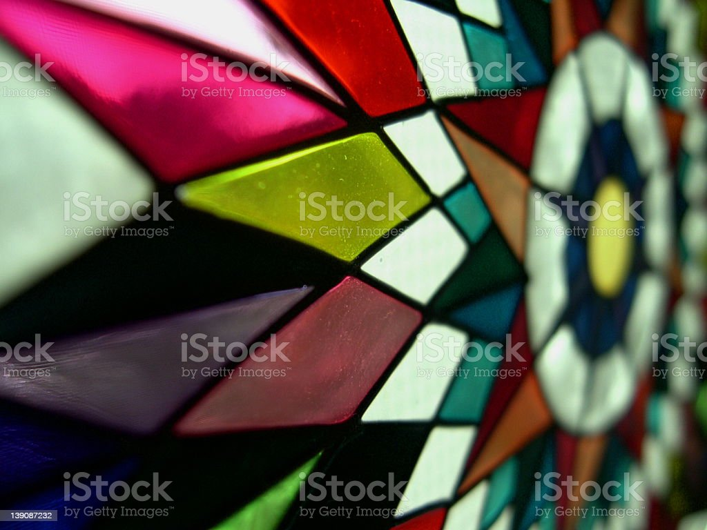 Fancy Glass Star royalty-free stock photo